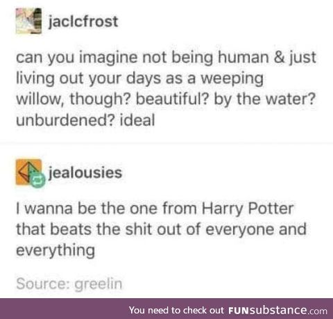 Whomping Willow is the Best Willow