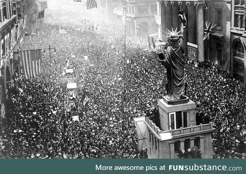 First Veteran's Day Celebration (1918) - Philadelphia, PA