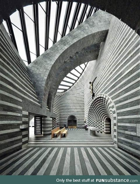 Chiesa di MognoS.Giovanni Battista (Svizzera)by Mario Botta