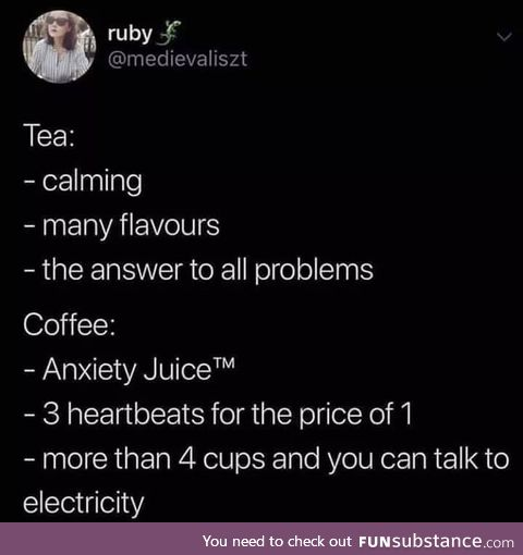 For all the tea lovers out there