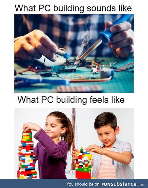 Pc = lego