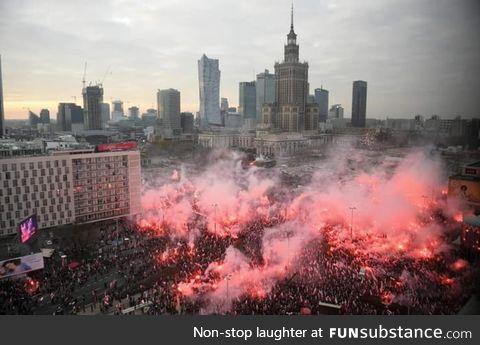 11 of November, 2019. Polish Independence Day