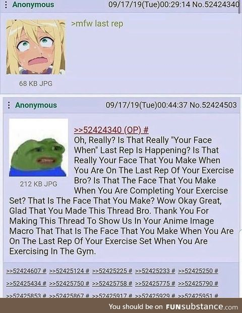 Anon is mad