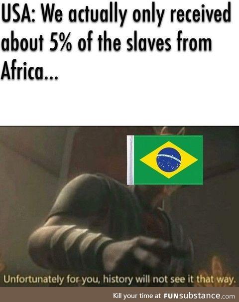 Brazil numero uno