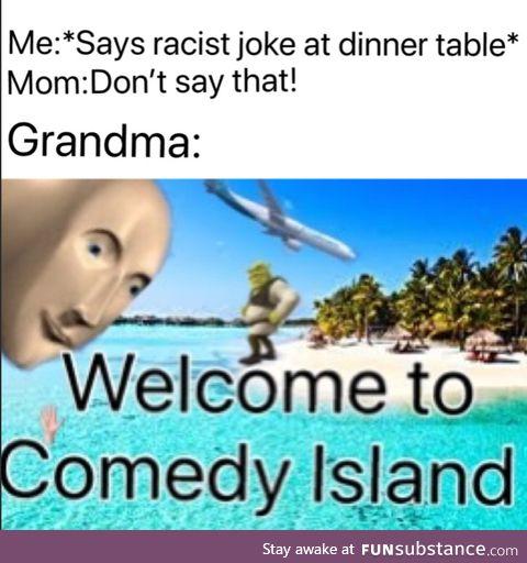 Thanks granny