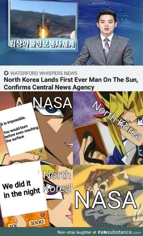 NASA vs NKSA
