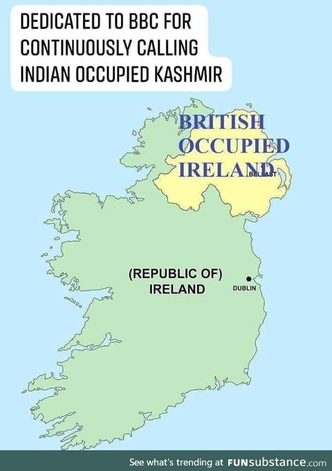 British occupied ireland