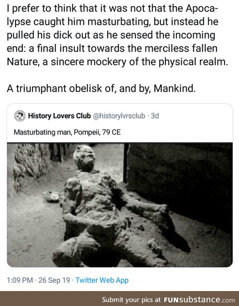 Triumph of mankind
