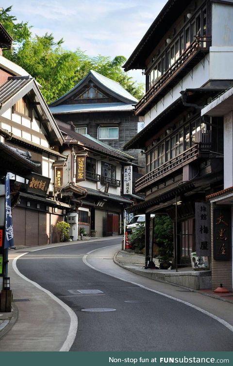 Streets of Narita, Japan