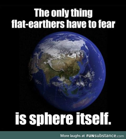 Flat Earthers hate this.