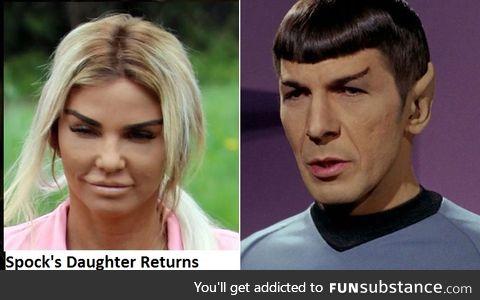 Spock's Daughter returns