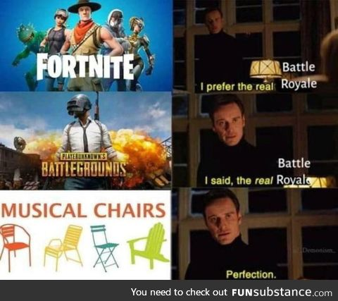 Musical chairs are the best