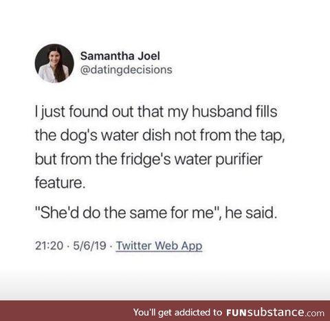 She deserves it
