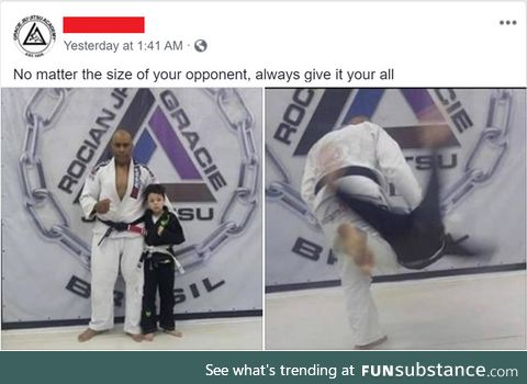 It's the Judo way