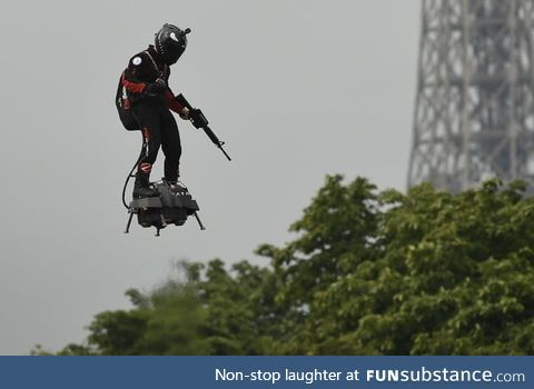 Here we are. Finally the real Iron-Man developed by an army will be french