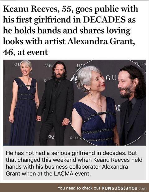 Congrats keanu!