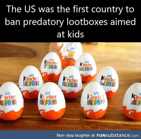 Hipster country banning lootboxes before it was cool