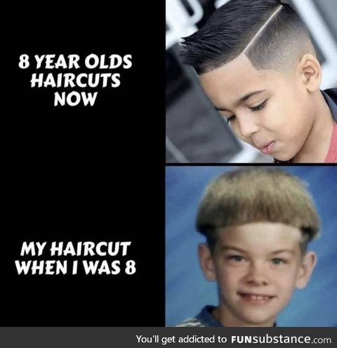 Haircuts now and then