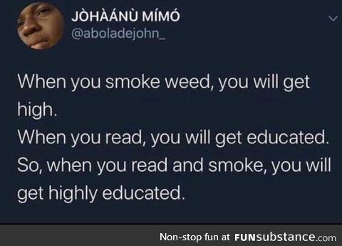 His highly genius
