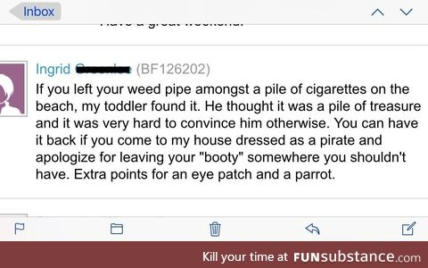 Found this post on my apartments web forum