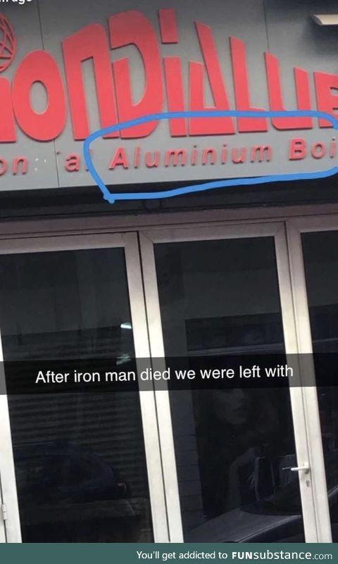 Aluminum boi
