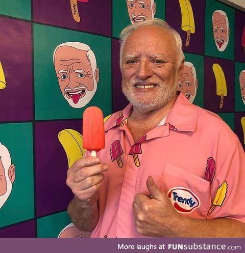 Harold in Chile
