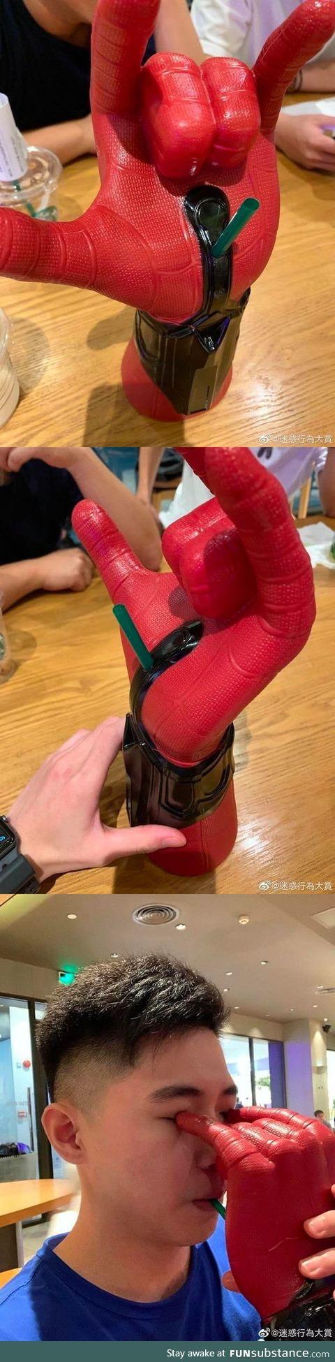 Nice Spiderman cup