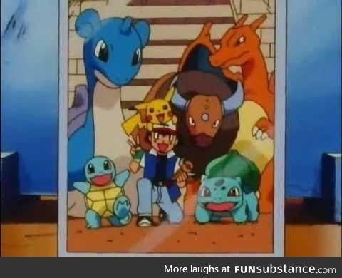 Best Team ever of Ash ??
