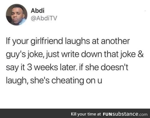 You better laugh