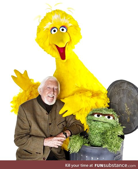 OMGOD Big Bird is gone The puppeteer Caroll Spinney who was Big Bird and Oscar died today