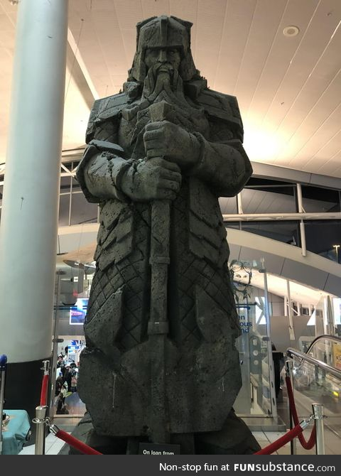 Saw this beauty before security at Auckland International Airport