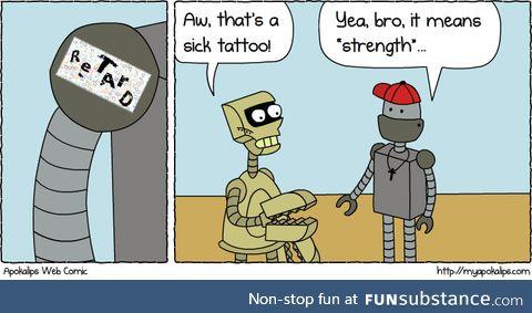 Captcha tattoo :)