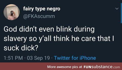 He's got a point