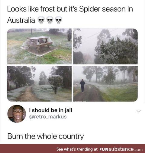 Lets burn Austria