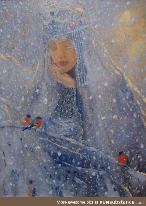 'The Winter' by Vladimir Kireev
