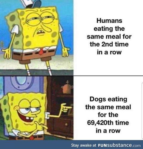 Unless im ordering food