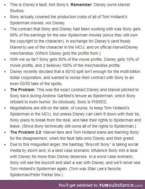 Disney is a greedy corporation, and some people are stupid