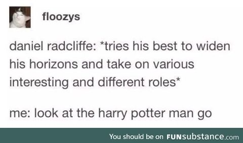 Harry Potter is in a lot of films
