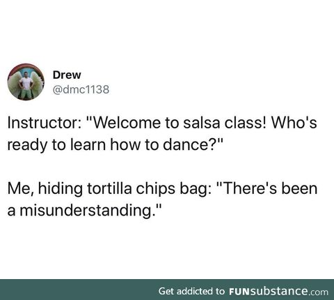 There's been a mixup at the salsa plant