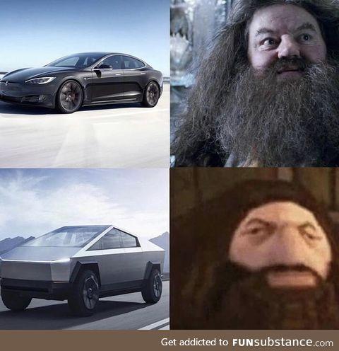 Tesla Product Designer smoked the good stuff.