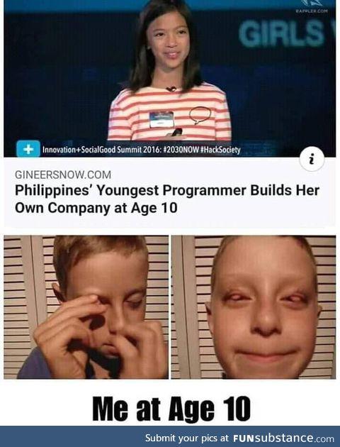 10 years programmer