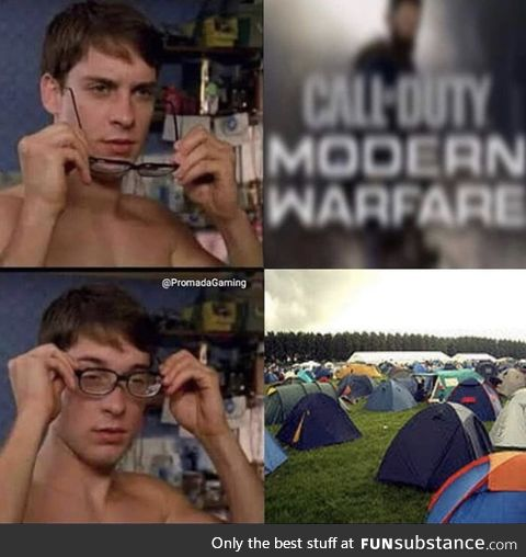 Modern Warfare in a Nutshell