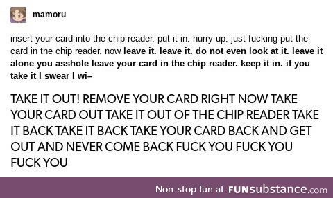 Cash is the new card