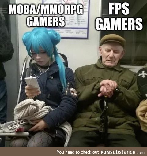 Gamers come in all forms