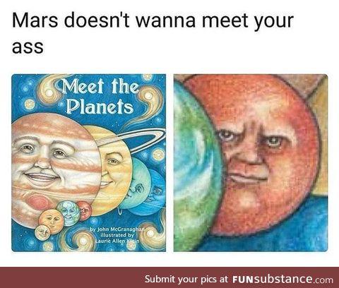Never go to Mars, actually