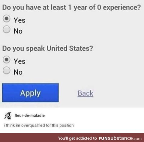 The best job application