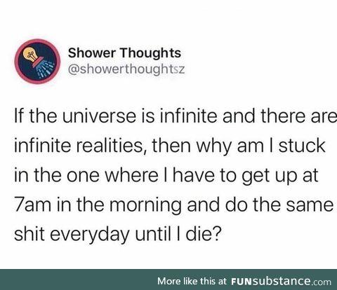 Infinite realities
