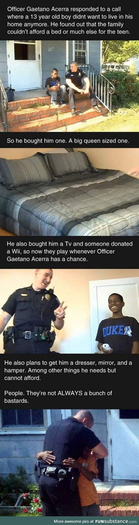 We should all be this bro-like