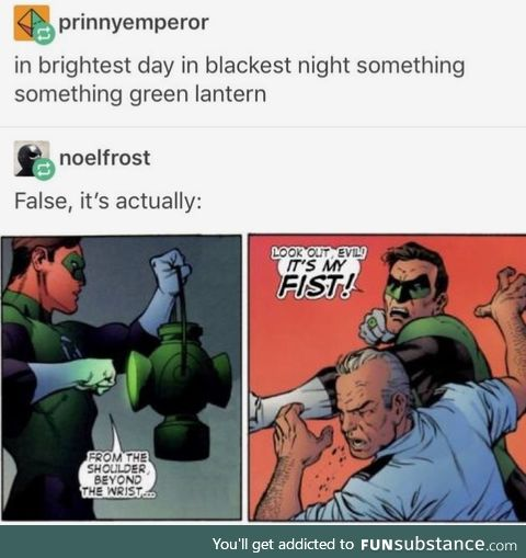 Green is willpower for some reason