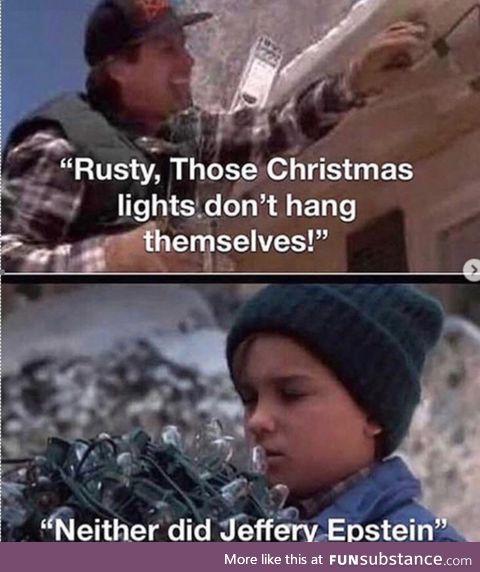 Those dam Christmas lights